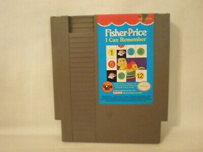 Fisher-Price: I Can Remember (Nintendo Entertainment System)  game only