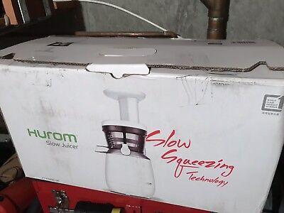Used, Hurom HP-WWA12 Slow Rotational Speed Juicer HP White AC100V 150W for sale  Warwick