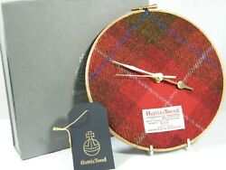 Wall Clock by  Harris Tweed  a startling & Unusual Clock, Magnificent !!!.
