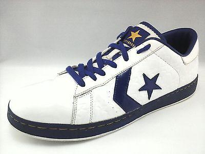 Converse Dwyane Wade White Blue NBA Shoes Sneaker Mens 13 Womens 14.5 Ultra Rare