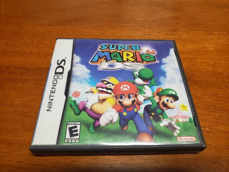 Super Mario 64 DS (Nintendo DS) Case & Manual Only