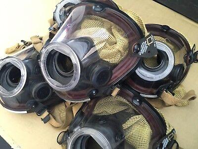 Scott Av-2000 Facepiece Firefighter Scba Mask Multiple Available Sz Xlarge