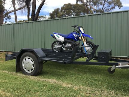 "Motorbike Lawn Mower Trailer ""HIRE"""