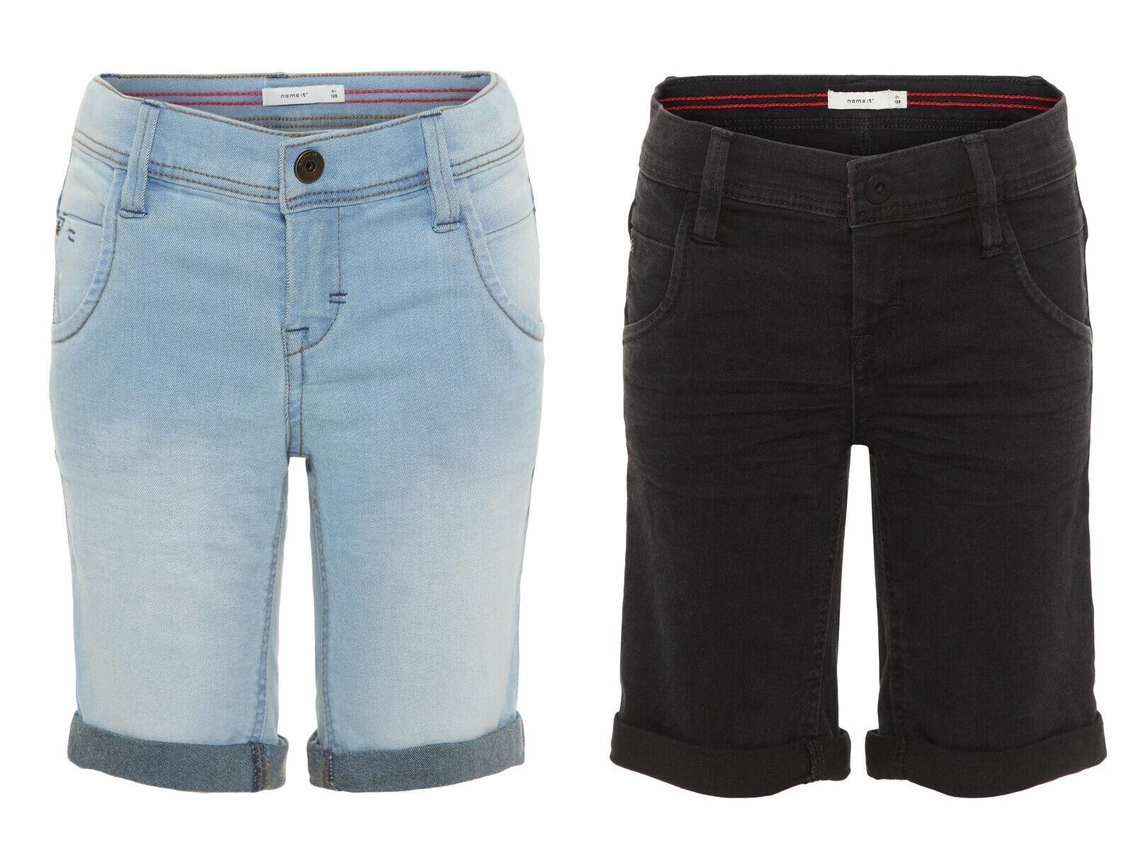 Name it Boy Jungen Slim Jeansshort kurze Hose Jeans Short Shorts 116 bis 164