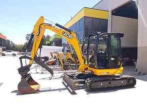 1 -5.5 tonnes excavators hire Ryde Ryde Area Preview
