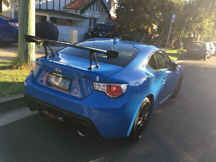 2015 MY16 Subaru BRZ - Limited Edition (Hyperblue) Drummoyne Canada Bay Area Preview