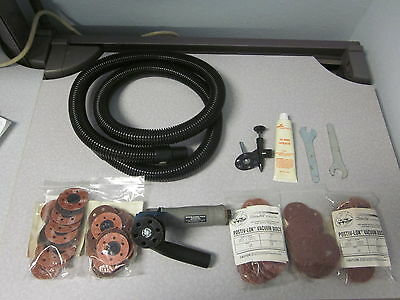 Dotco 2 Pneumatic Grinder With Dcm Clean Air Products Vacuum Kit