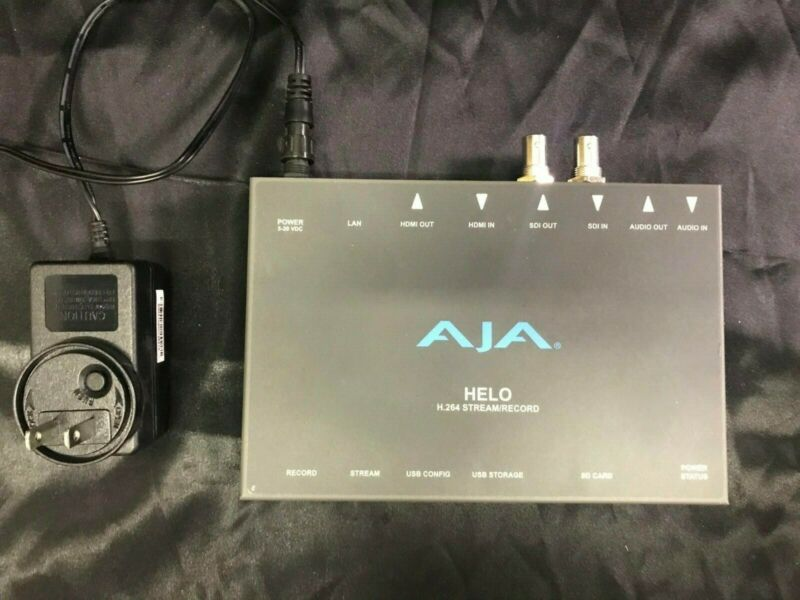 AJA Helo H.264 Streamer and Recorder