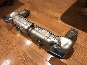 Porsche 911 Turbo exhaust system