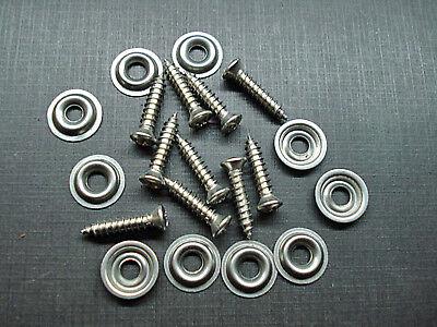 "10 pcs #8 x 3/4"" w/#6 head stainless kick panel door interior trim screws Mopar for sale  Altha"
