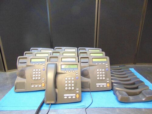 Lot Of 10 3Com 2101 Office Phones With Bases And Handsets  Free Shipping  RH124y