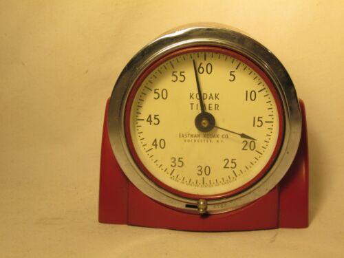 vintage Kodak timer darkroom analog red developing counter clock