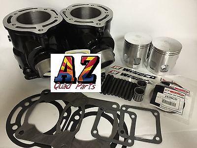 Yamaha Banshee YFZ 350 Stock Cylinders Wiseco Pistons Top End Gasket Rebuild Kit