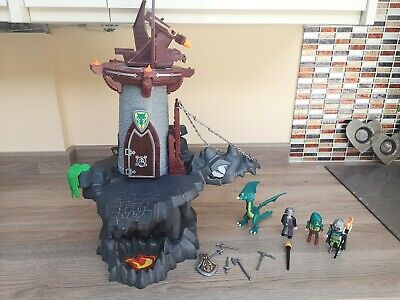 4836 Dragons Dungeon Knights Castle Playmobil with Box&instructions see notes