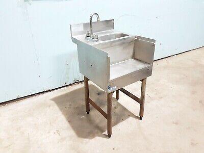 Lacrosse Sk18rsc Commercial Hd Modular Ss Nsf Bar Wash Sink Wblender Shelf