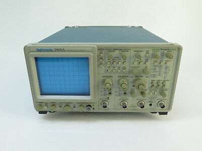 Tektronix 2465a - 350mhz 4 Channel Portable Analog Oscilloscope For Parts