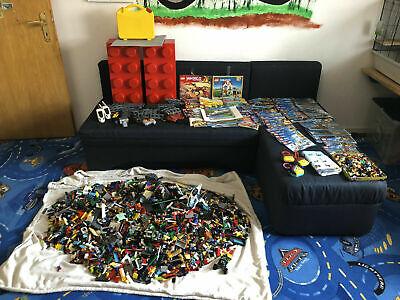 LEGO ca. 15 - 20 kg XXL Konvolut Sammlung ICE Ninjago City inkl. Bauanleitungen