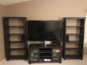 IKEA TV Console and Wall Storage