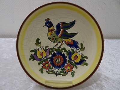 Villeroy & Boch Steiermark Ceramics Wall Vintage around 1930 Pigeon/Pheasant