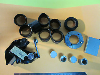 Microscope Part Reichert Austria Lot Accessories Optics Binb1-81