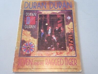 DURAN DURAN Rare Songbook SEVEN and the RAGGED TIGER w/ Reflex, Union of Snake