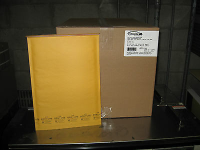 100 4 Ecolite Kraft Bubble Mailers 9.5 X 14.5 W Free Shipping