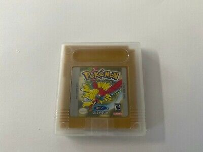 Pokemon Gold Version GBC Gameboy COLOR SAVES USA SELLER FIRST CLASS SHIPPING