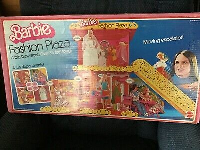 VINTAGE BARBIE FASHION PLAZA SET 9525 MATTEL 1975 W ORIGINAL BOX