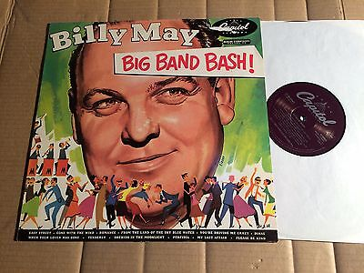 BILLY MAY - BIG BAND BASH - LP - CAPITOL - EUROPE - Reissue - MONO