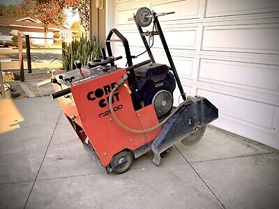 Core Cut Cc2500 20 Self-propelled Walk Behind Concrete Saw Low Hours Xlnt Cond