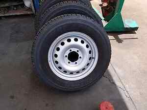 Toyota hilux wheels triton navara Nissan 6x139.7 Thornlands Redland Area Preview