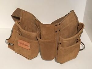 Mastercraft suede leather toolbelt Canadian tire tool belt NEW