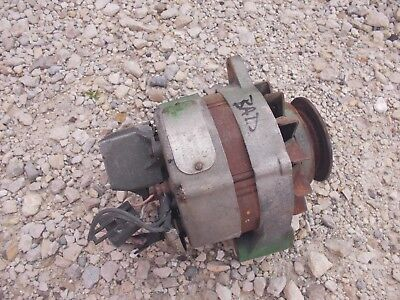 Oliver Tractor 12v Core Non Work Motorola Alternator Good Belt Drive Pulley