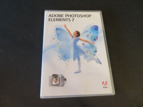 Adobe Photoshop Elements 7 for Win XP Win Vista W/ SN