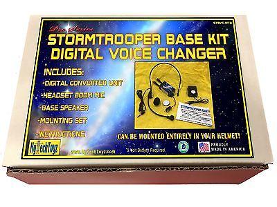 Stormtrooper Helm Digital Voice Changer Basis Set mit / Lautsprecher & Mikrofon