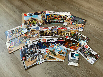 LEGO Joblot - Star Wars, Ideas (Friends), Hidden Side (NO MINIFIGURES)