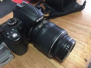 Nikon D5000 twin lens DSLR Redcliffe Belmont Area Preview