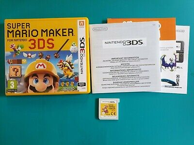 NINTENDO 3DS : super mario maker