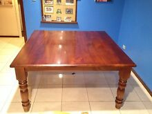 Large wood dining table Port Kennedy Rockingham Area Preview