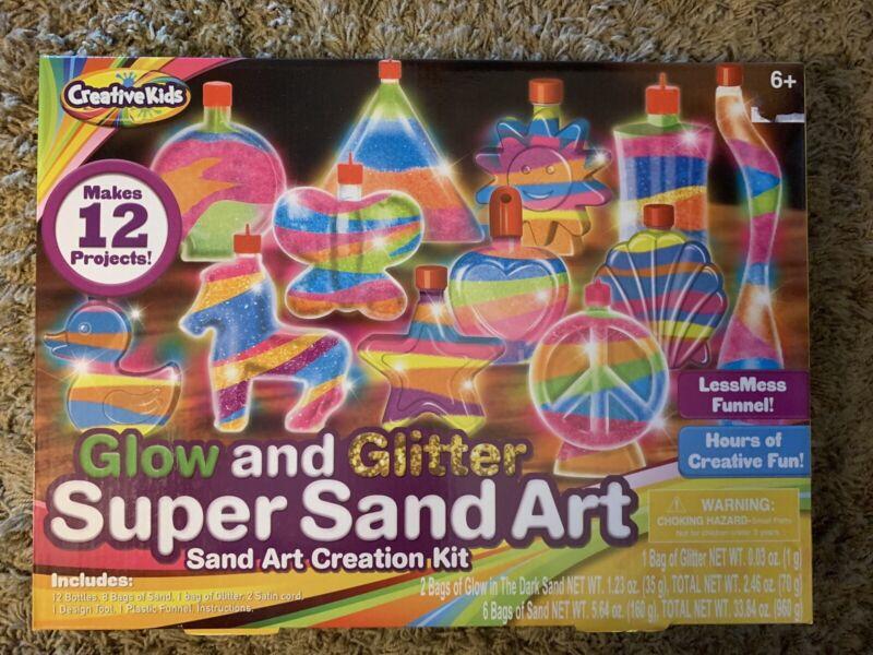 Glow And Glitter Super Sand Art Creative Kids Sand Art