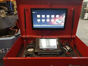 Snap On Versus Pro Scan Tool WITH UPS POWERED CABINET Bayswater Knox Area Preview