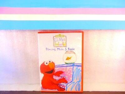 Sesame Street: Elmo's World Dancing , Music & Books on DVD