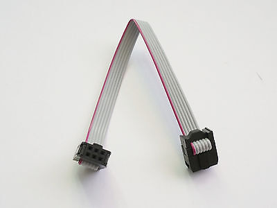 2x3 6-pin Idc Ribbon Cable 2.54mm Pitch 15cm - Usa Seller - Free Shipping