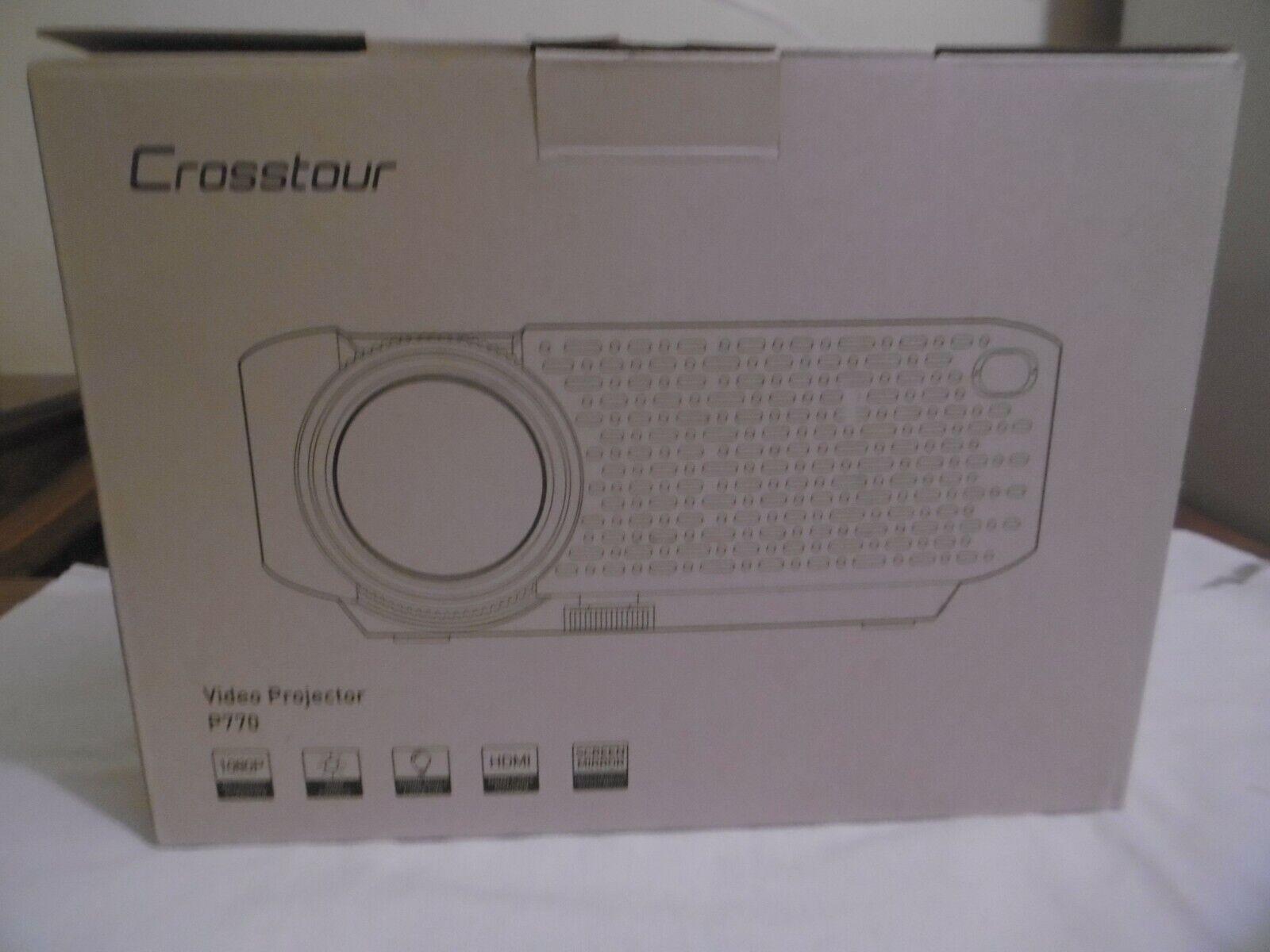 Video projecteur crosstour p770