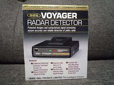 كاشف الرادار BEL Voyager ~ العلامة التجارية الجديدة في المربع