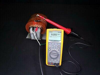 Universal Voltronics 9kv High Voltage Hv Ac Transformer 120vac - Tested
