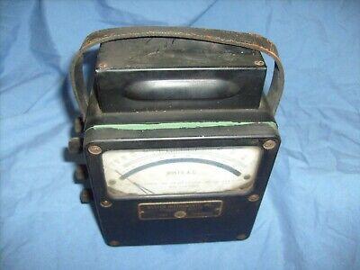 Weston Electrical Instruments Model 433 0-150 Ac Volt Meter