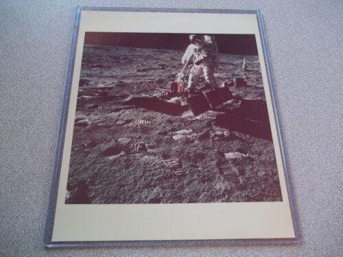 Apollo 11 Vintage NASA Photo - Buzz Aldrin on Luner Surface (3)