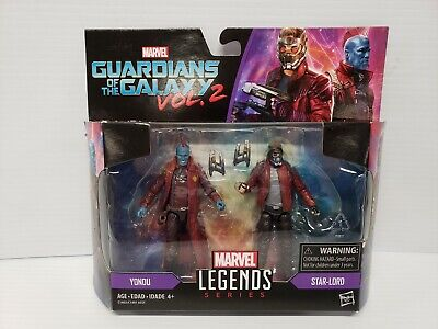 Marvel Legends Guardians Of The Galaxy Yondu Star-Lord 3.75 Action Figure Hasbro