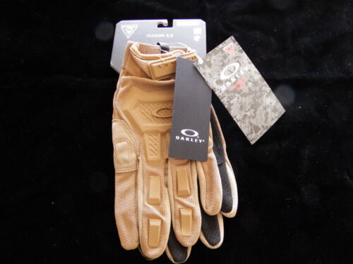 Oakley Flexion 2.0 Gloves, Coyote, X-Large, Brand New!